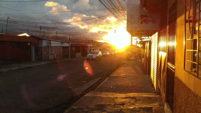 Sunset, Calle Blancos, Costa Rica