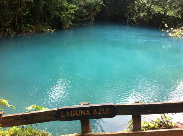 Laguna Azul, the Blue Lagoon.