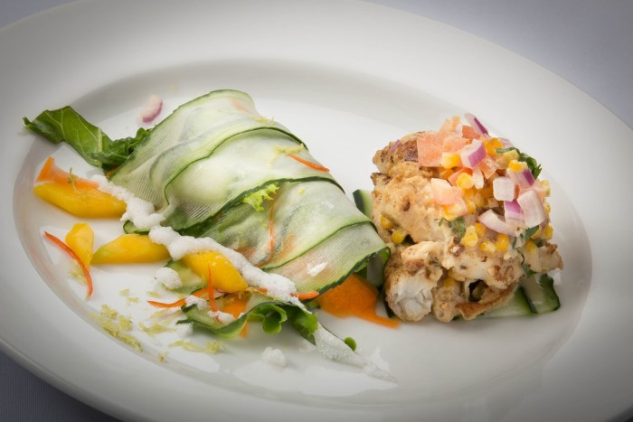 "This dish, called ""Under the Waves,"" speaks to the region's connection with the sea."