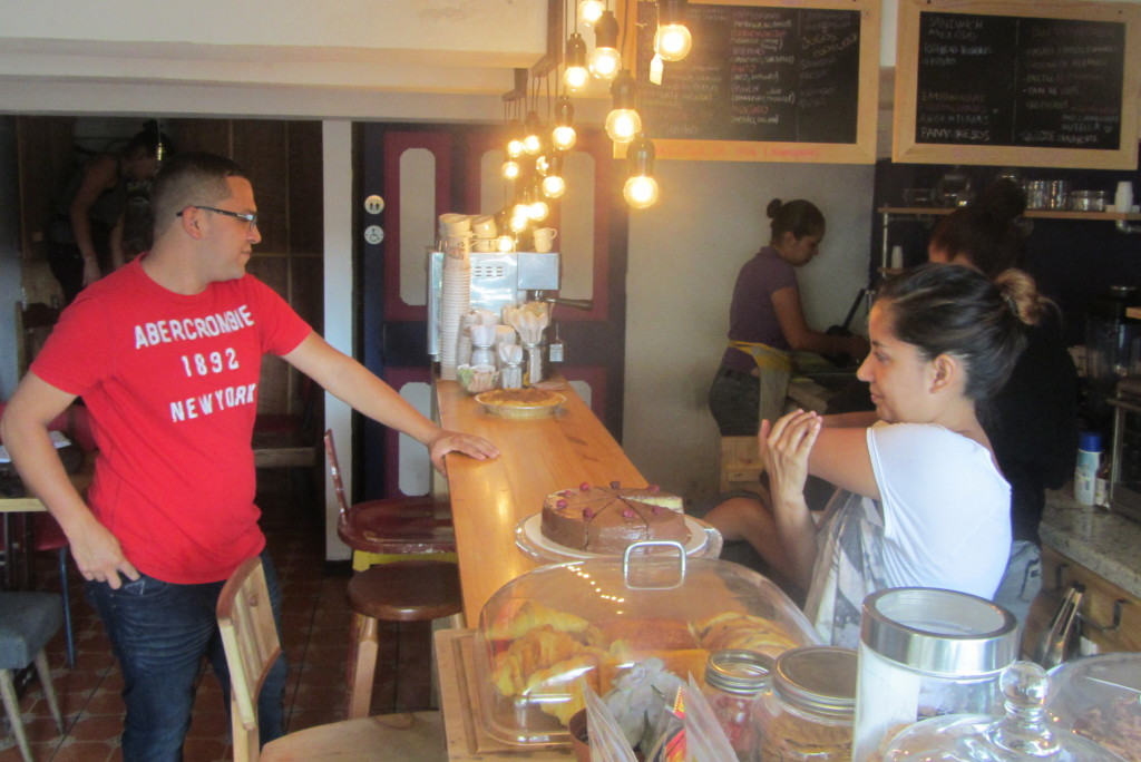 Diego Juárez and Laura Martinez have turned Cafe Miel into a main staple of Barrio Amón.