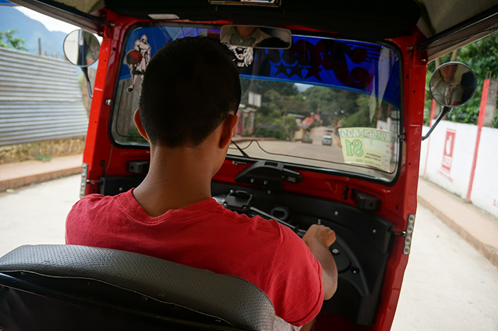 Tuk-tuk transportation has become the norm in San Pedro.