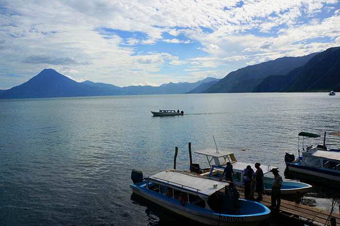 Lake Atitlan offers visitors natural beauty and the opportunity to learn about Mayan culture.