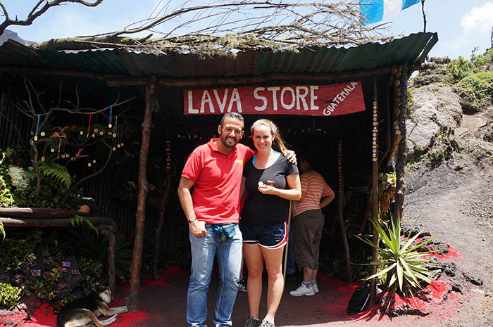 David Flores co-founded Mayan Rebirth to give back to locals affected by the 2010 eruption.