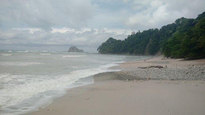 Visitors are rewarded with a swim in the Pacific after hiking Cabo Blanco's forest trails.