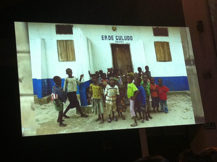 A primary school in Mozambique built with the help of Guludo Beach Lodge and its charitable foundation.