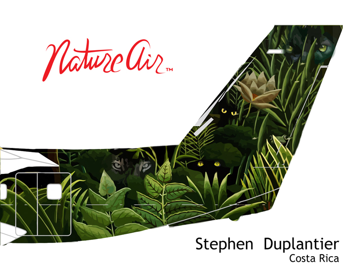 Stephen Duplantier's plane tail design