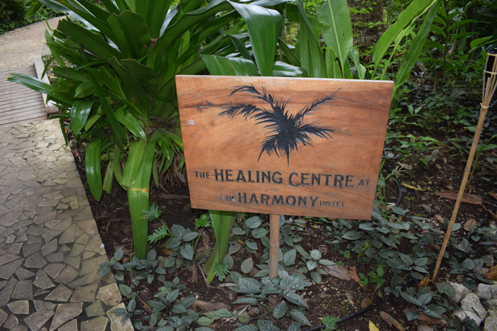 The space used by the Harmony to do massages and yoga is known as the Healing Centre.