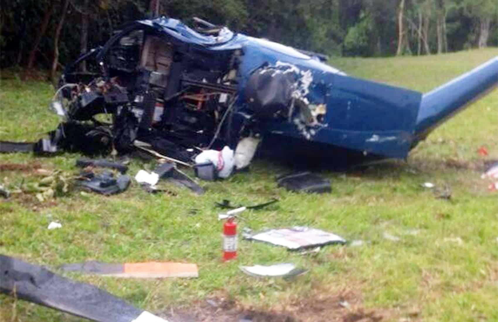 MSP crashed helicopter