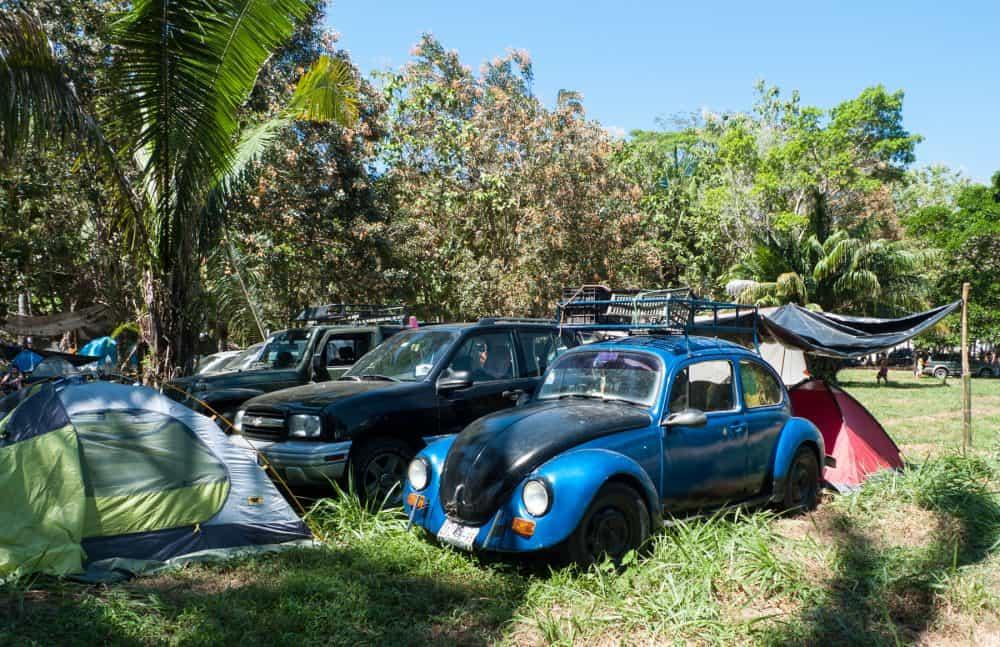 Envision car camping