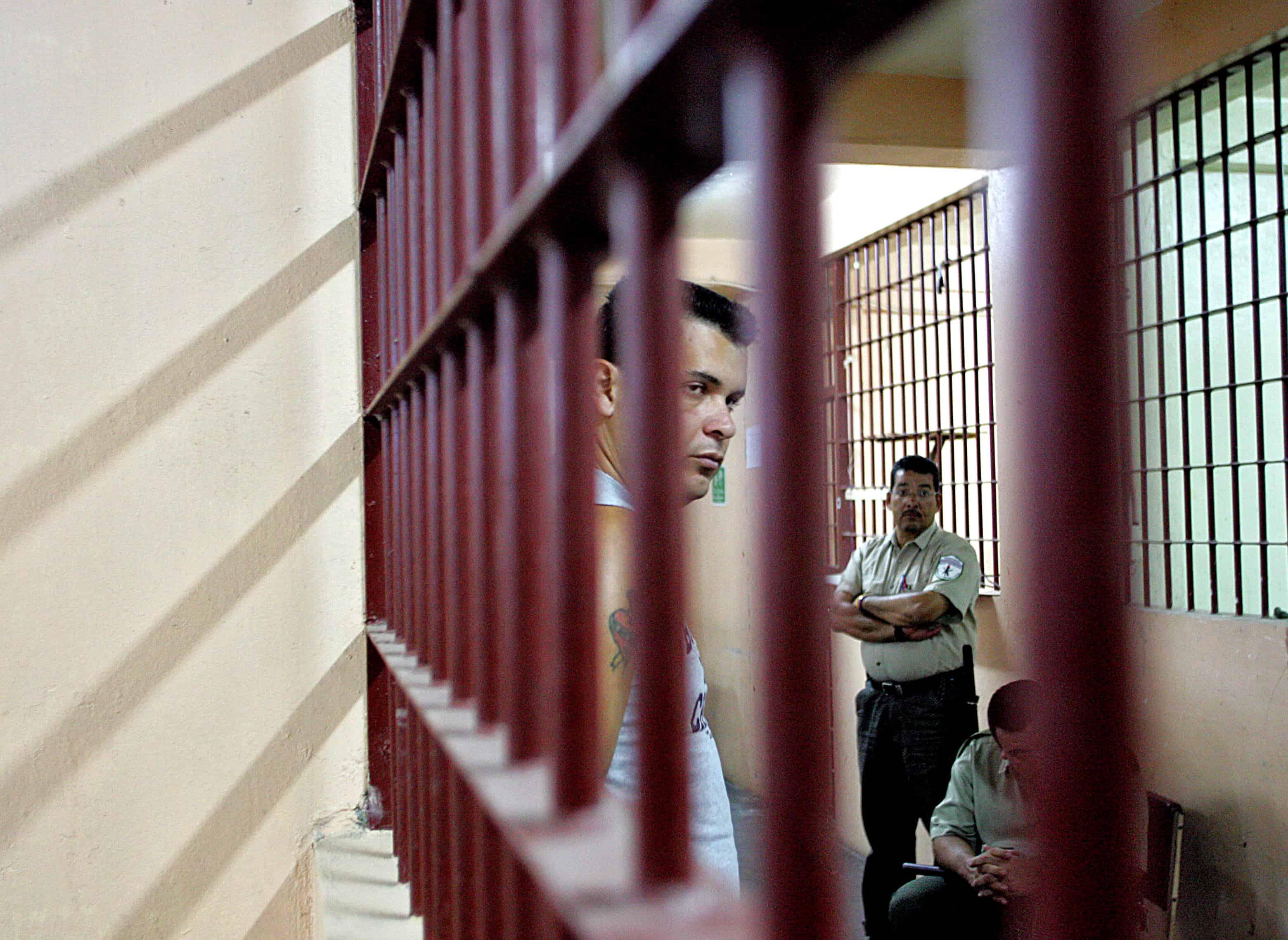 An inmate at San Sebastián.