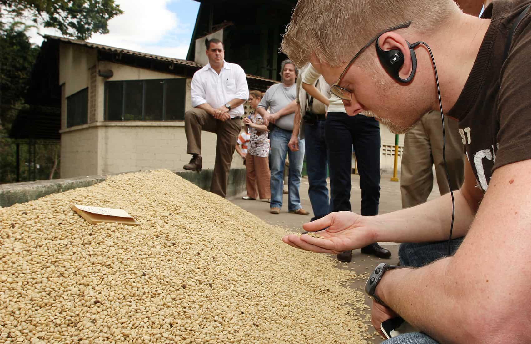 Coffee buyers
