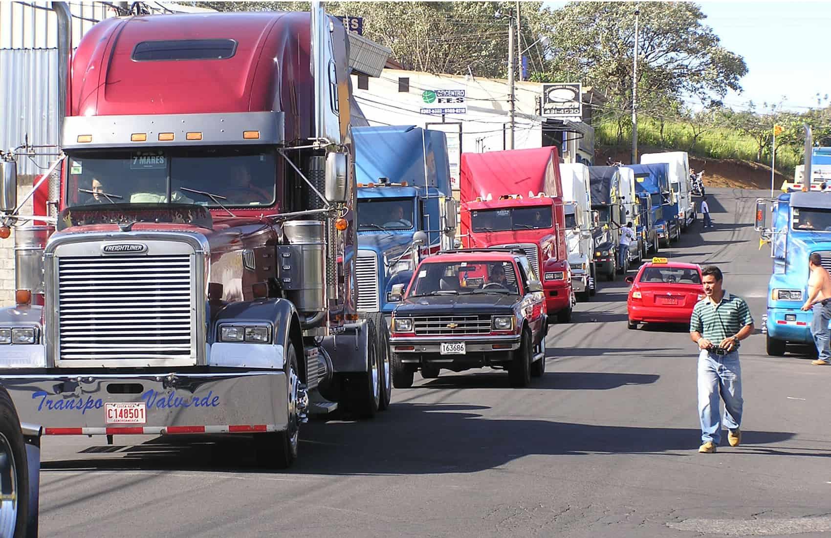 Trucks in Costa Rica