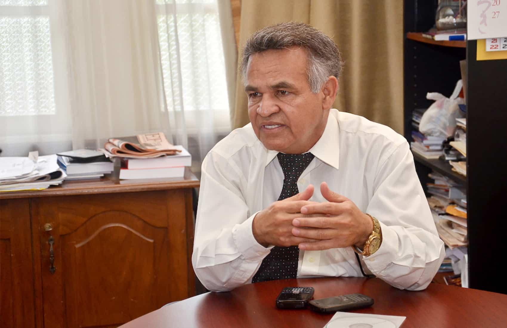 Lawmaker Justo Orozco