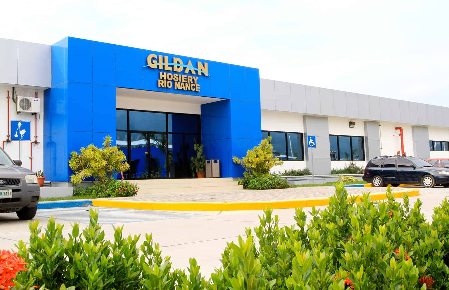 Gildan facilities in Honduras