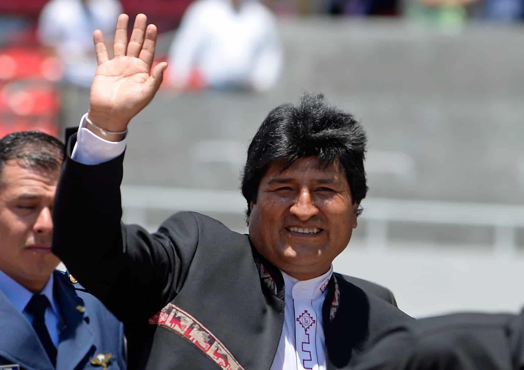 Evo Morales, former president of Bolivia.