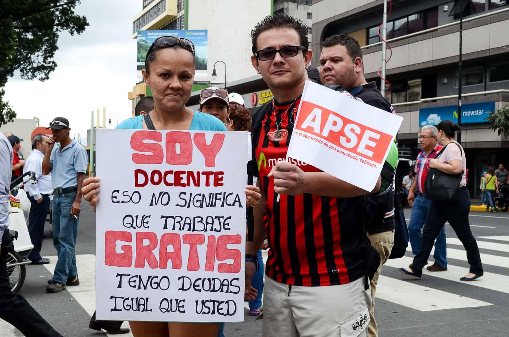 Teachers' strike