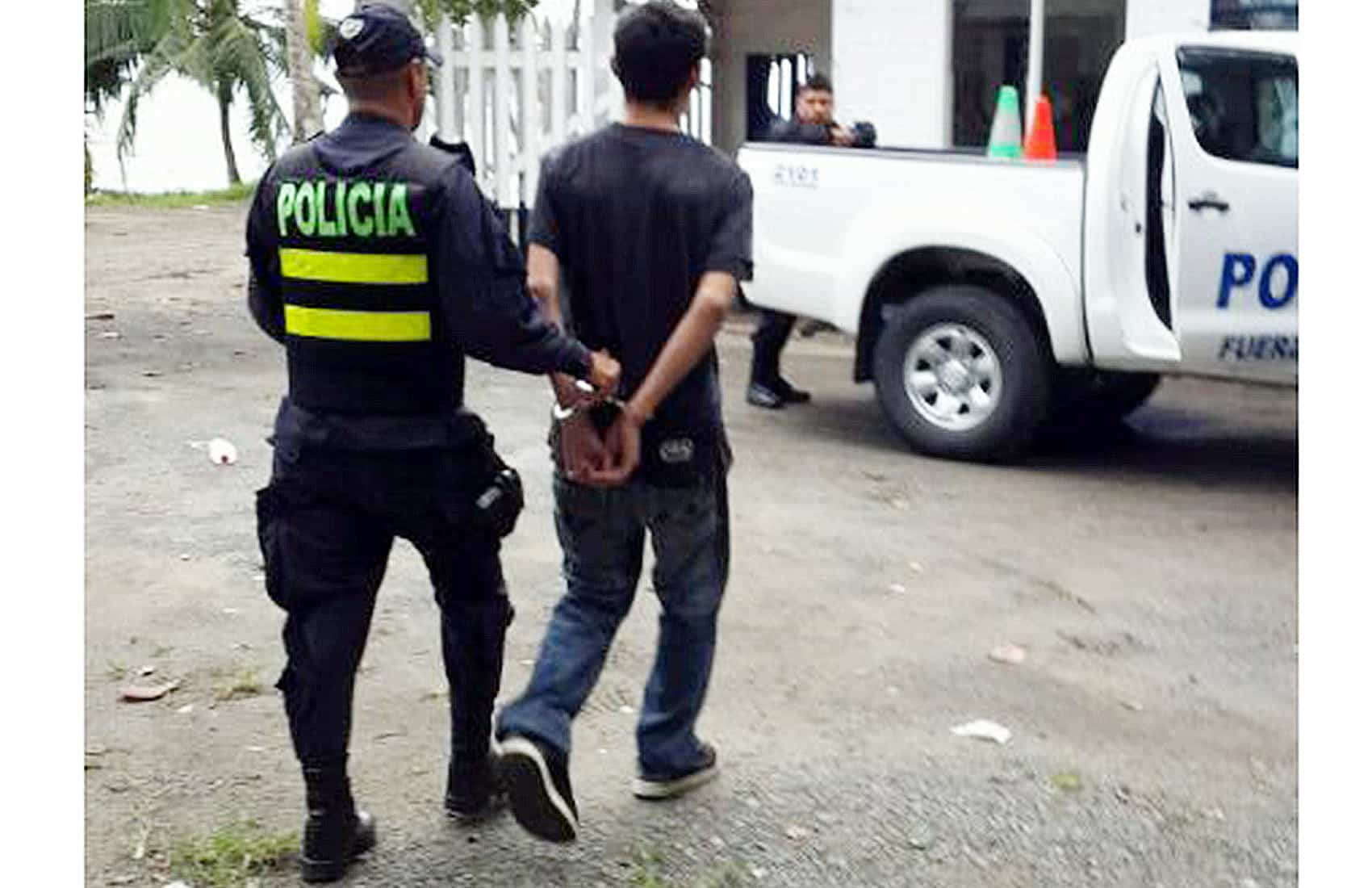 Assailant arrested in Puerto Viejo, Limón