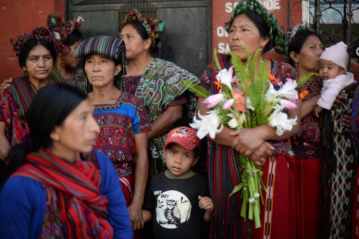 Guatemalan Maya Ixil people