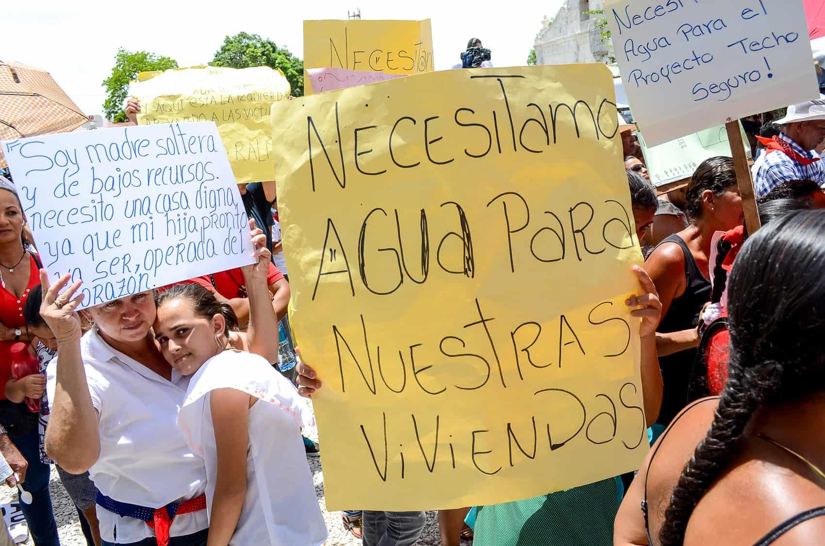 Nicoya protesters