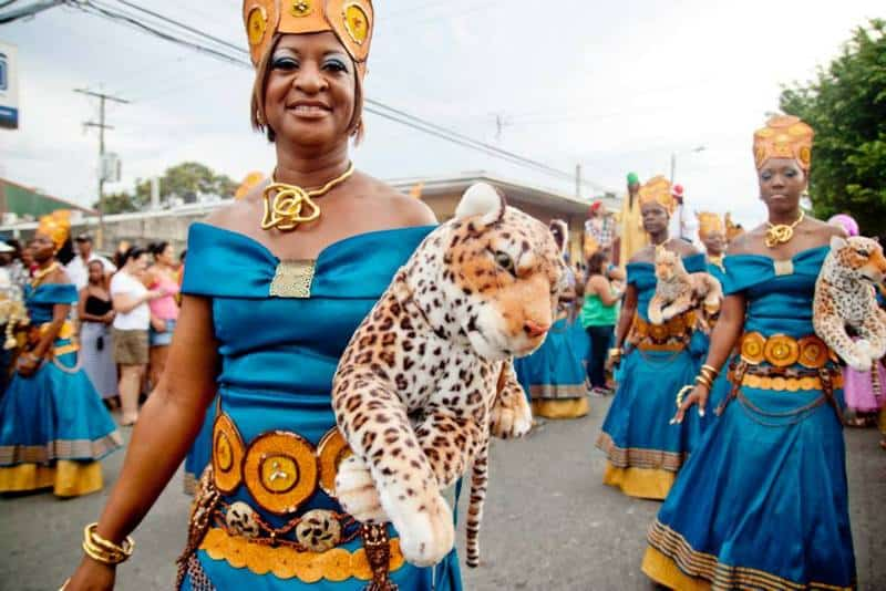 Carnival and black Costa Ricans