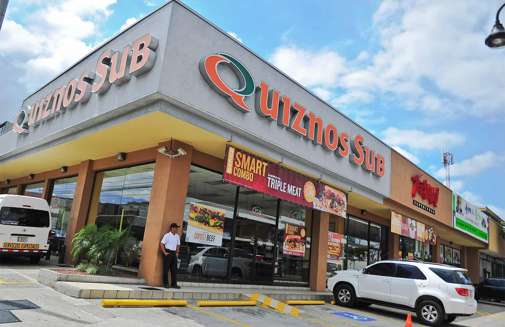 Quiznos subs & Teriyaki restaurants