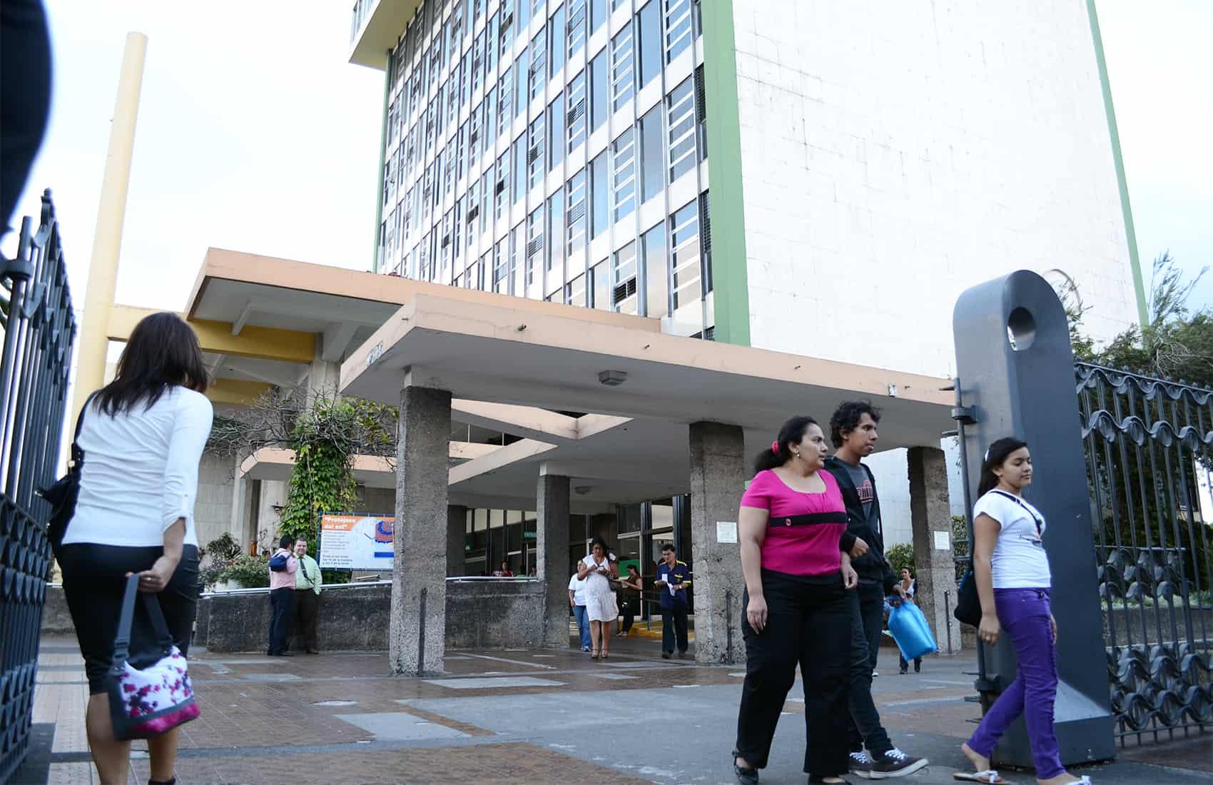 Caja building in San José