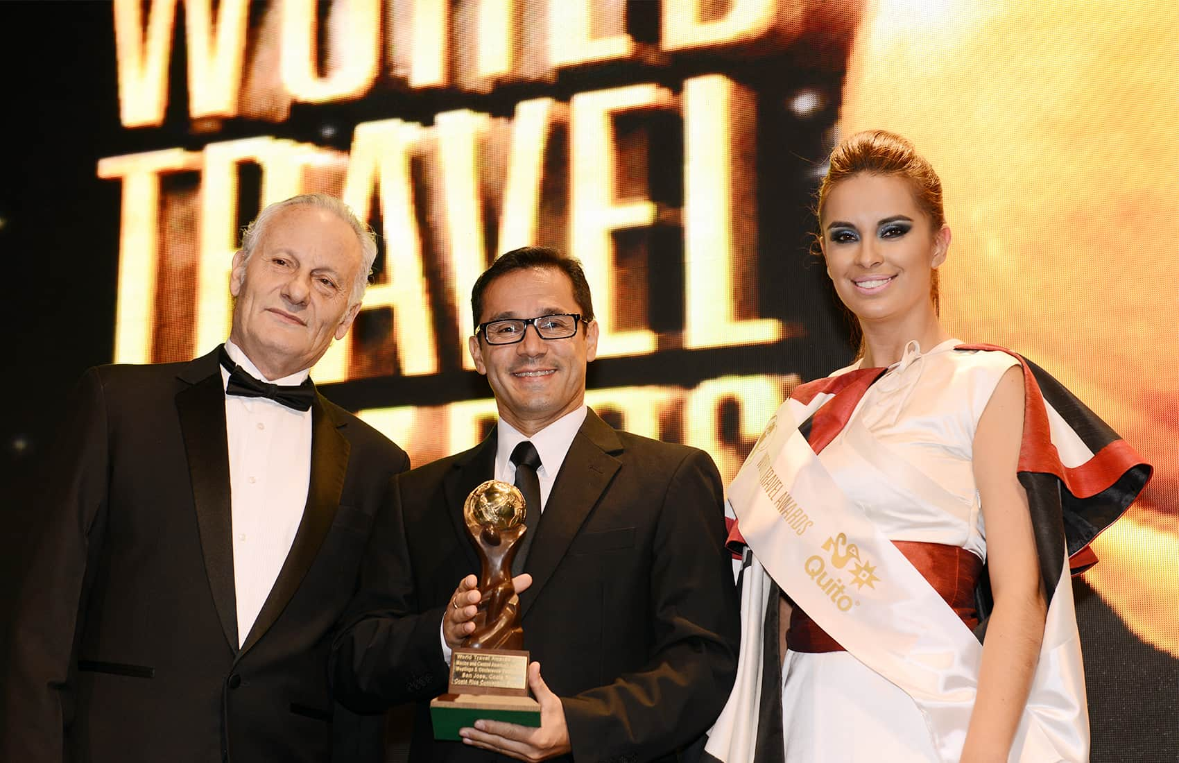 Pablo Solano at the World Travel Awards