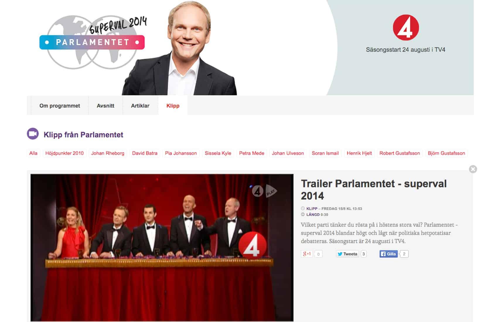 TV4 - Sweden