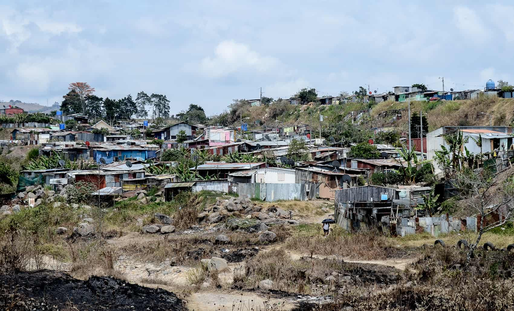 A slum in Taras, Cartago. Costa Rica.