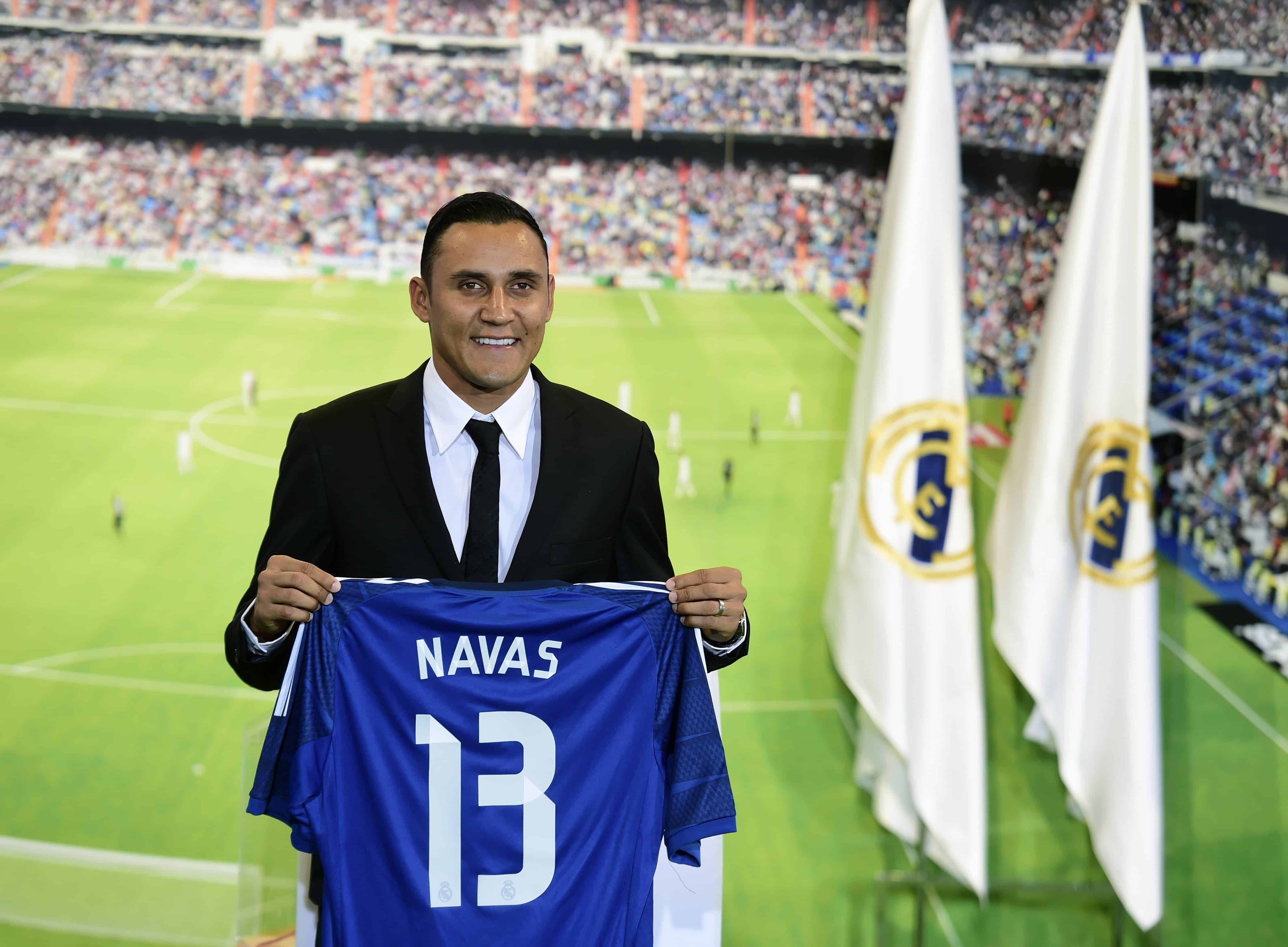 separation shoes 2bb73 83d0b Costa Rica's Keylor Navas up for challenge after Madrid move ...