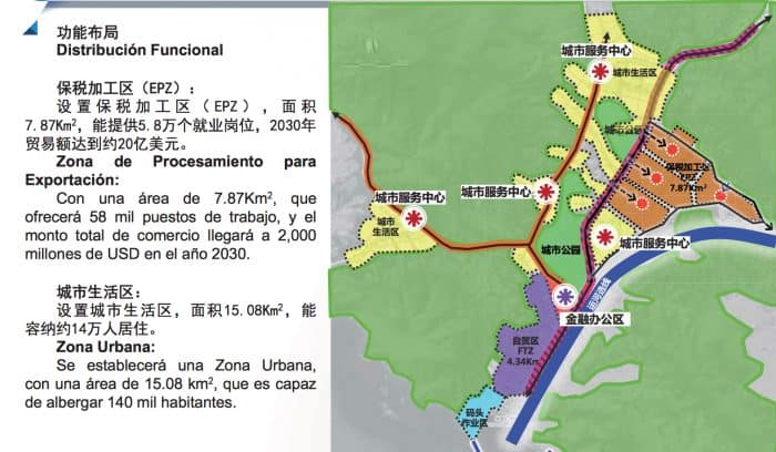 "(Screengrab from �����������������������������������������������������the ""Proyecto de Desarrollo Integral del Gran Canal de Nicaragua"")"