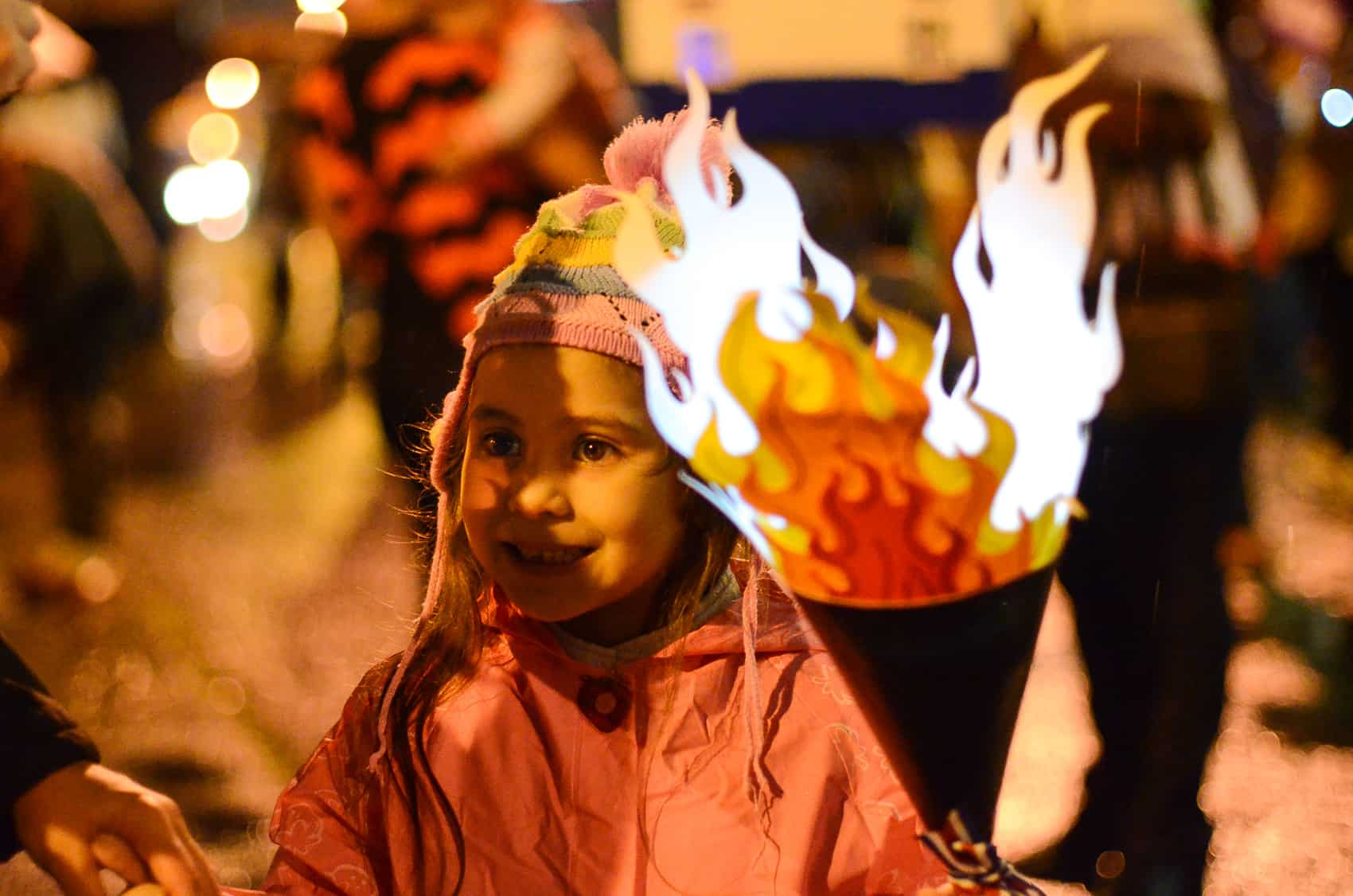 Each year on Sept. 14, just after dark on the eve of Independence Day, Costa Rican kids parade their homemade lanterns in towns and cities across the country.