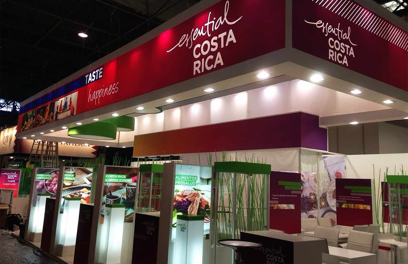 Costa Rica stand at SIAL 2014