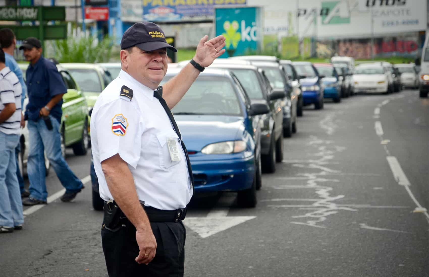 Traffic Police officer