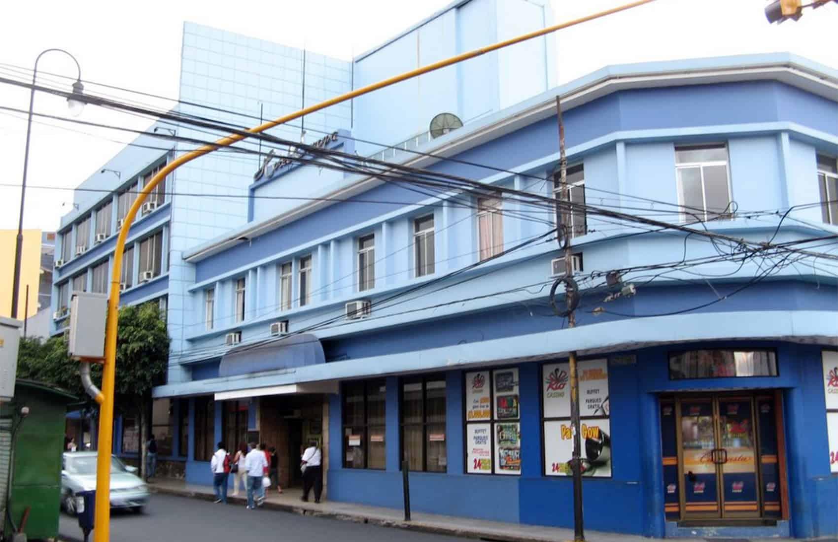 Hotel Europa, downtown San José