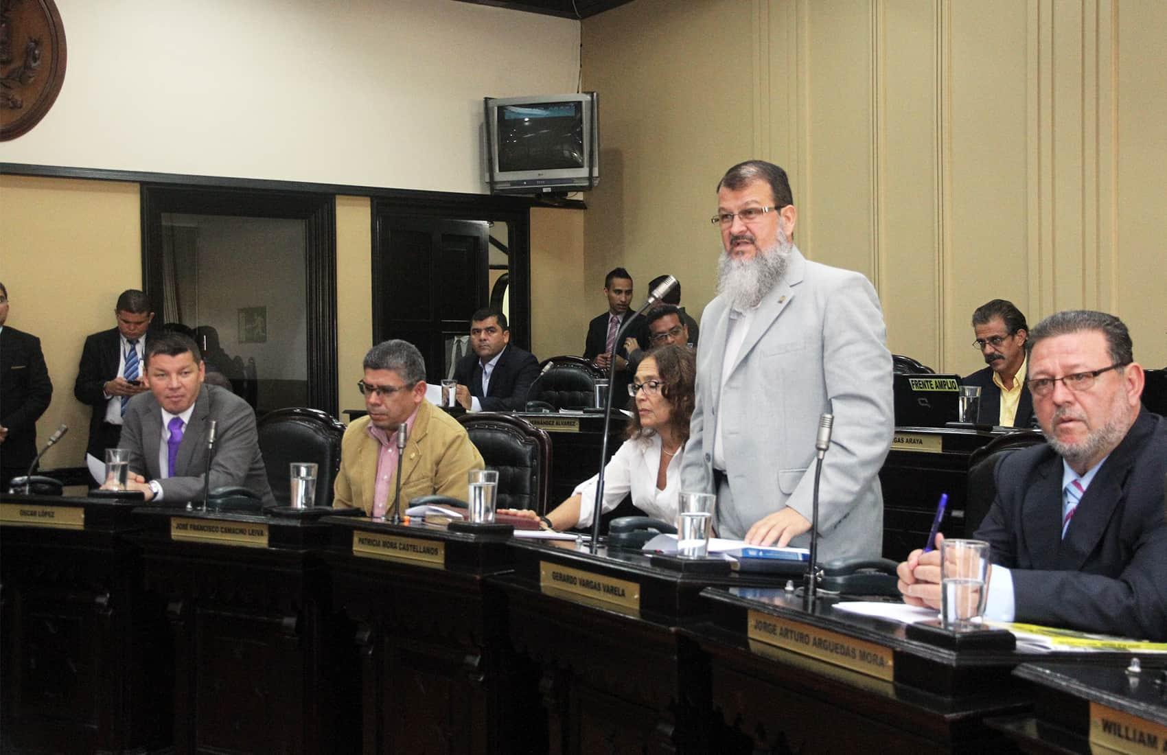 Broad Front top lawmaker Gerardo Vargas
