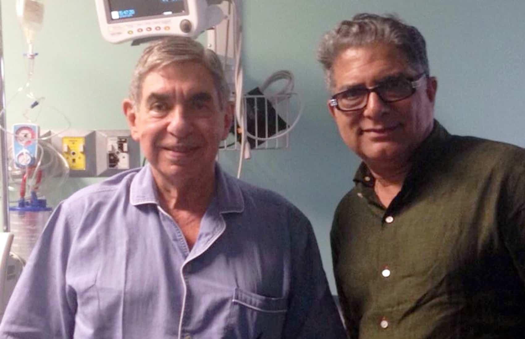 Óscar Arias Sánchez and Deepak Chopra