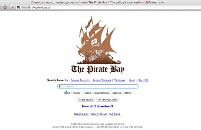File-sharing site The Pirate Bay reappears on Costa Rica ...