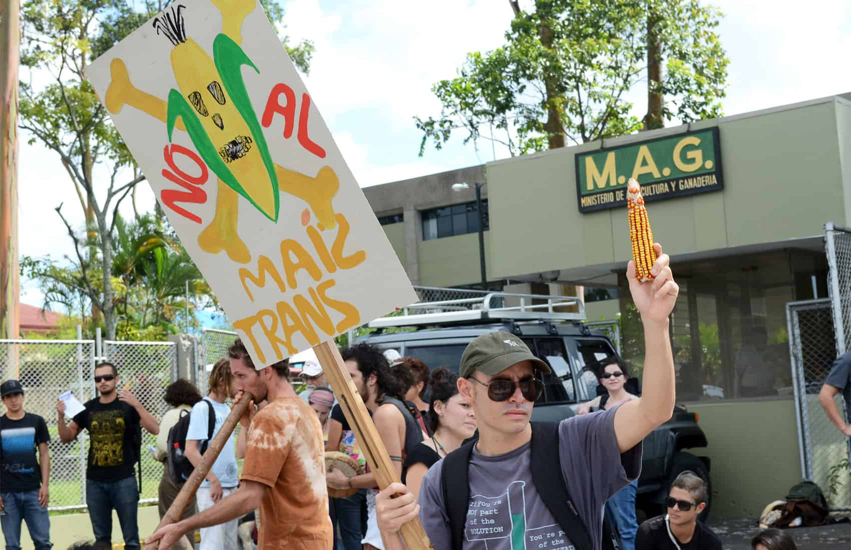 Anti-GMO demonstration