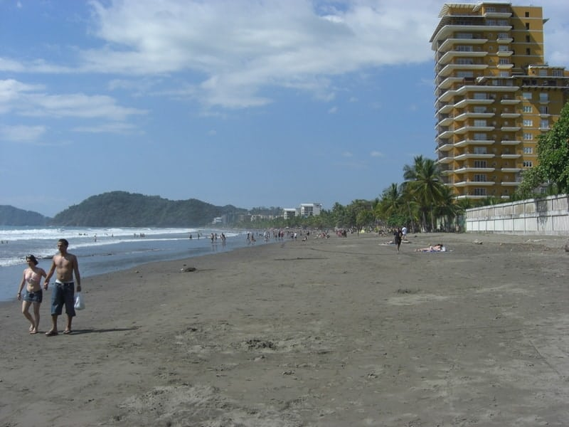Jacó Beach in Costa Rica. Photo is for illustrative purposes only.