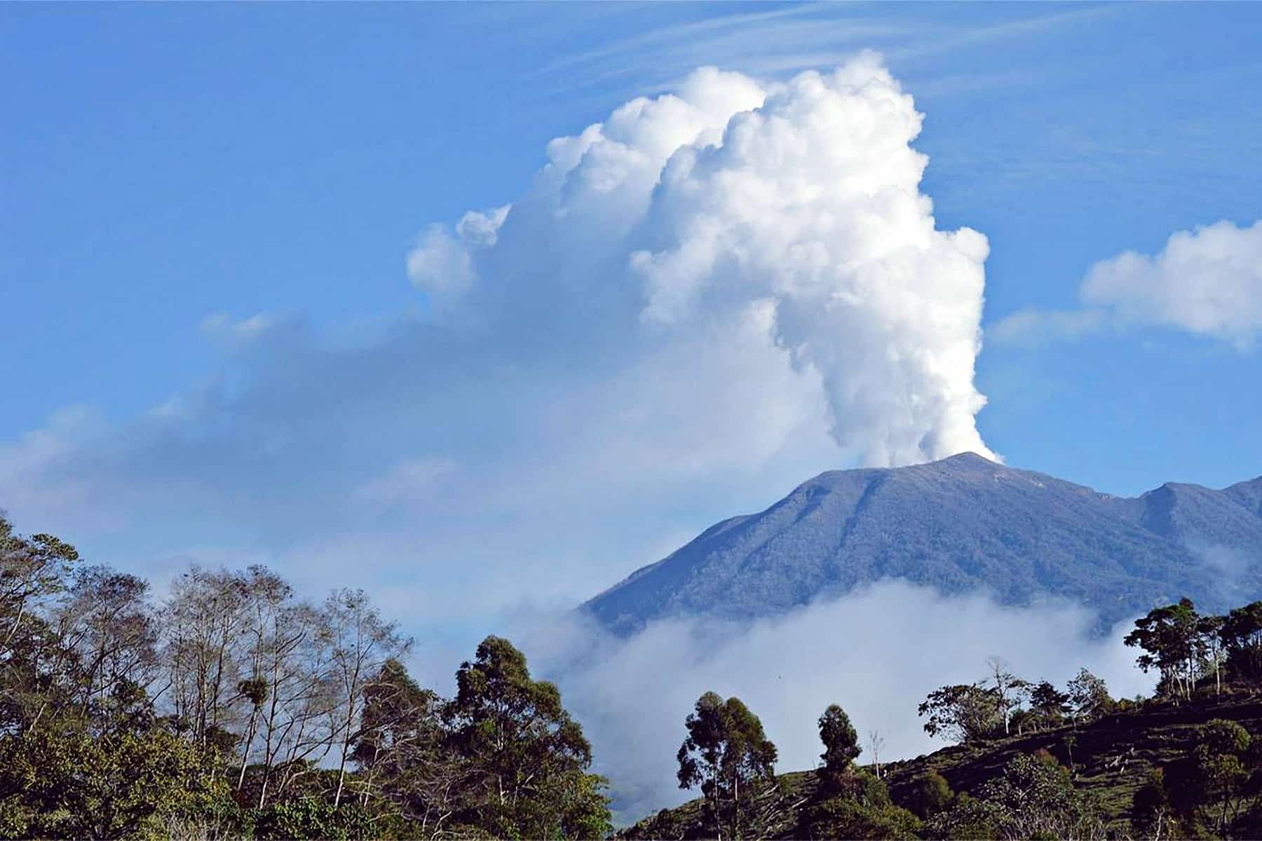 Turrialba Volcano, Feb. 11, 2015