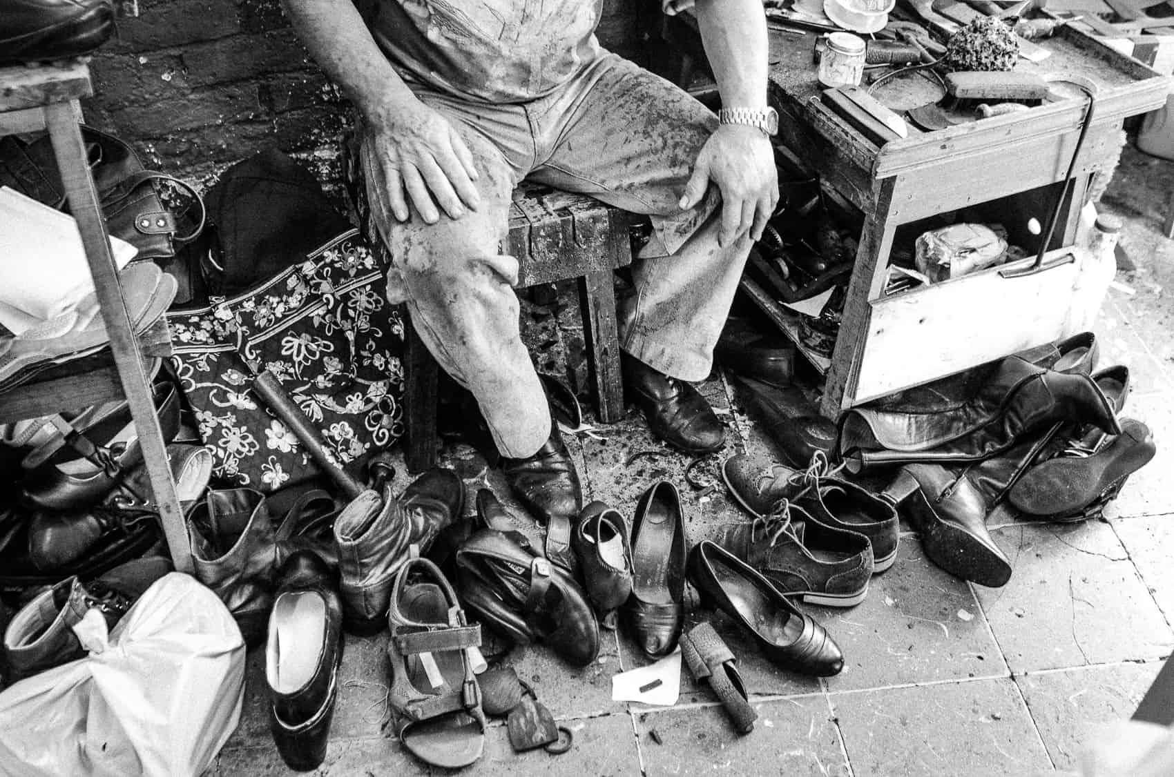 cfe540e9b9c92 PHOTO ESSAY: Barrio Amón Shoe Repair Shop – The Tico Times   Costa ...