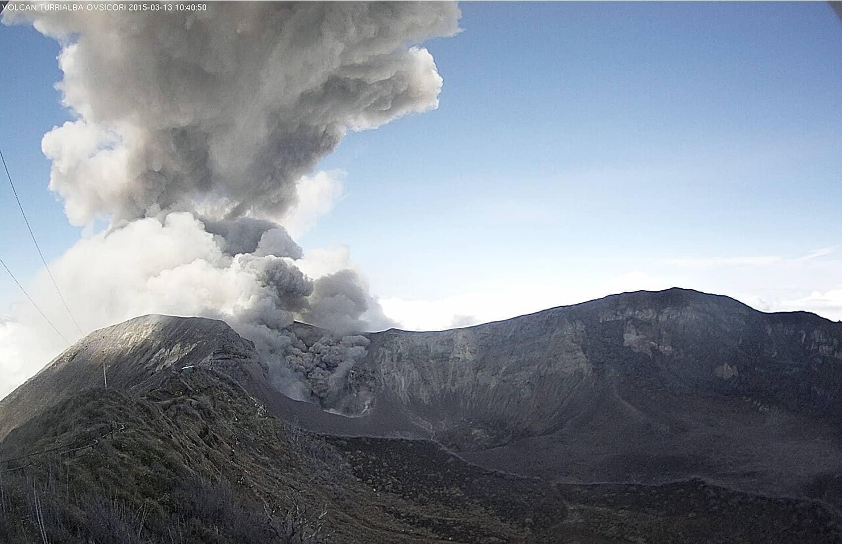 Turrialba Volcano, March 13, 2015.