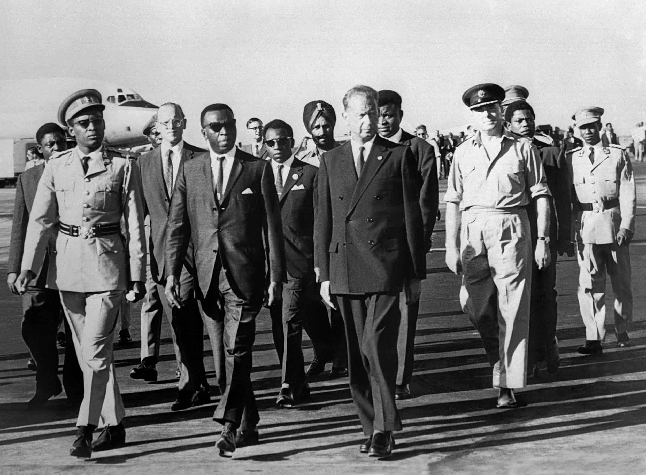 The late U.N. Secretary-General Dag Hammarskjold in 1961.
