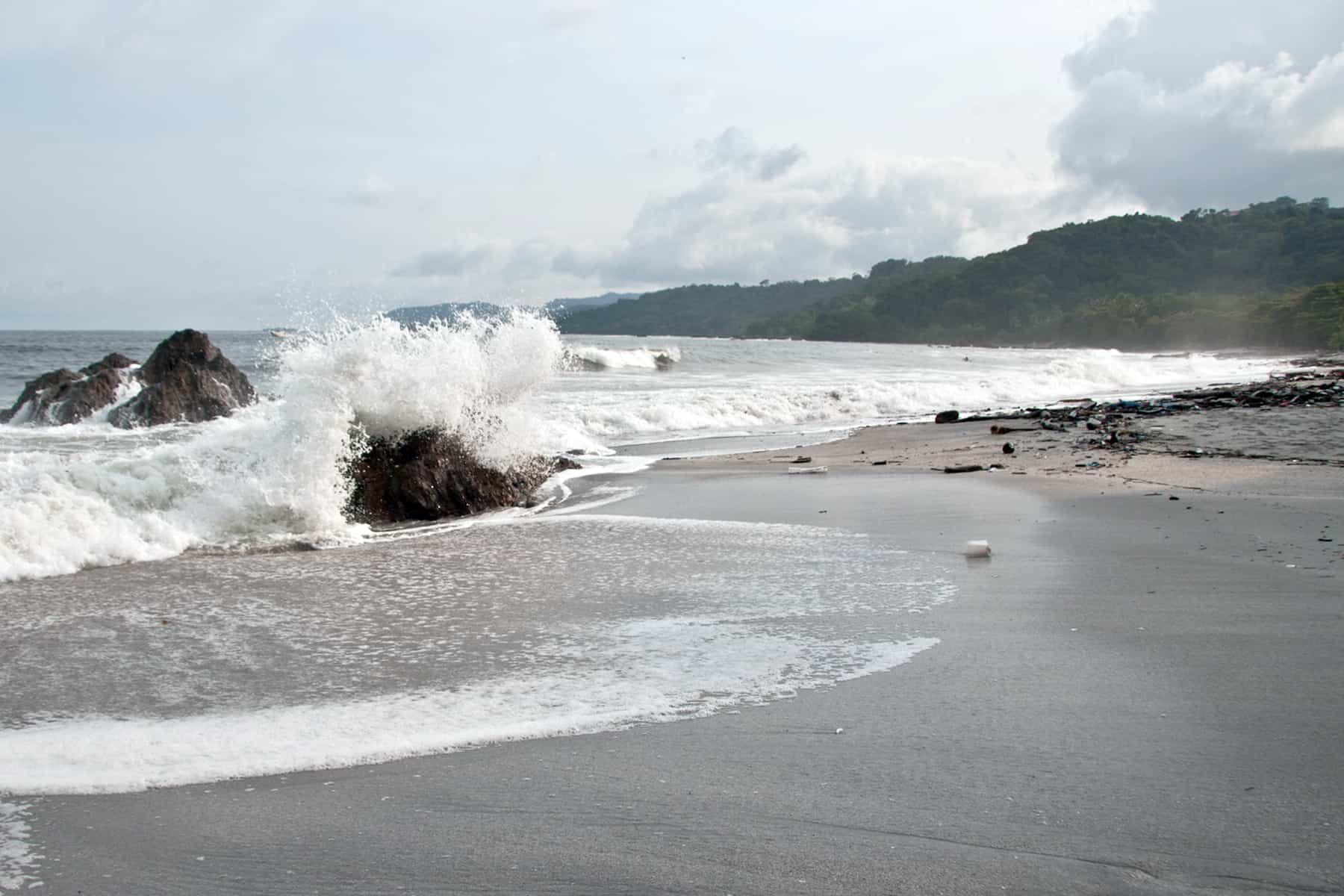 Montezuma beach, Guanacaste