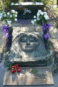 Selena's grave.