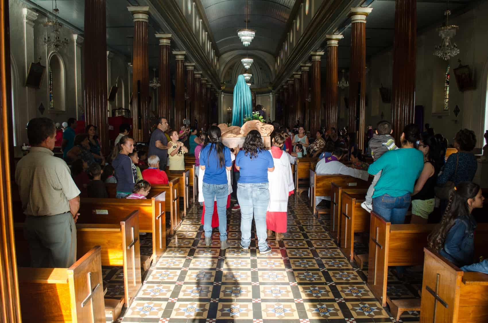 2015 Semana Santa service