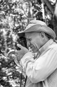 Photographer Sebastião Salgado.