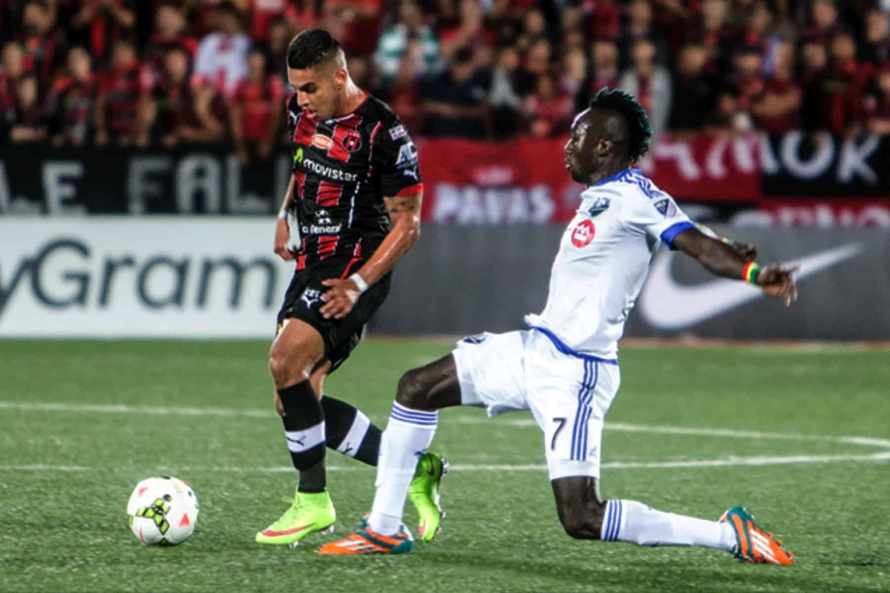 Alajuelense - Impact CONCACAF Champion's League semifinal match