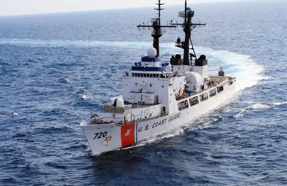 U.S. Coast Guard vessel